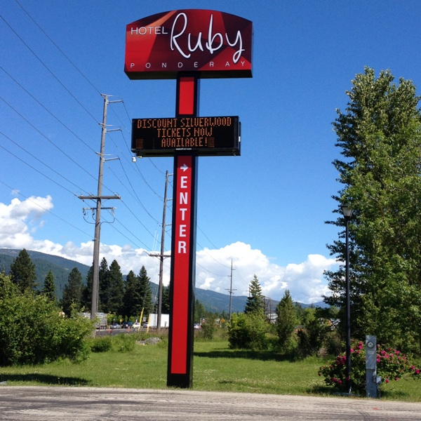 Hotel Ruby in Ponderay, Idaho