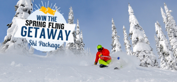 Win a ski getaway to Sandpoint, Idaho and Schweitzer Mountain!