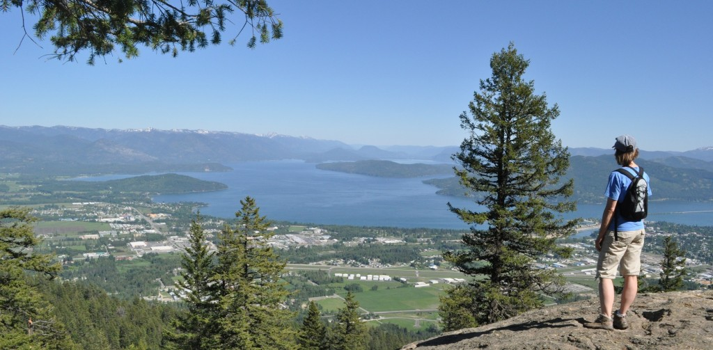 Mickinnick Trail in Sandpoint, Idaho
