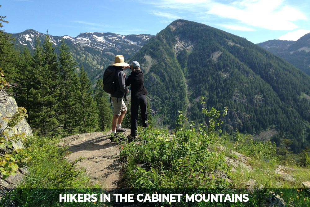 hike at rock lake in the cabinet mountains