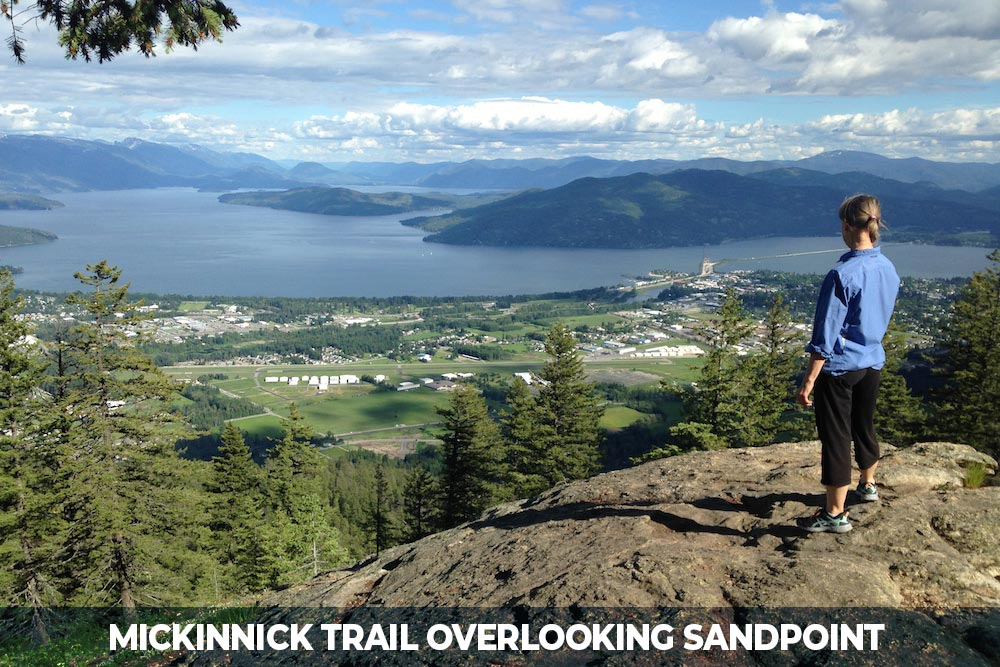 hike at mickinnick in sandpoint